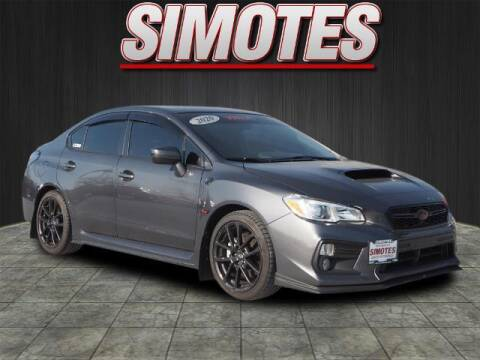 2020 Subaru WRX for sale at SIMOTES MOTORS in Minooka IL