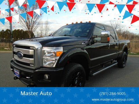2015 Ford F-250 Super Duty for sale at Master Auto in Revere MA