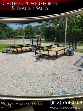 """2021 Heartland 12'x76"""" Utility for sale at Gaither Powersports & Trailer Sales in Linton IN"""