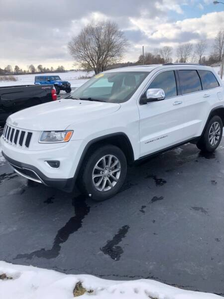 2014 Jeep Grand Cherokee for sale at Huggins Auto Sales in Hartford City IN