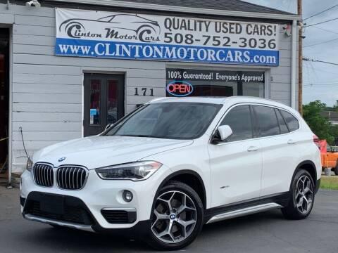 2016 BMW X1 for sale at Clinton MotorCars in Shrewsbury MA