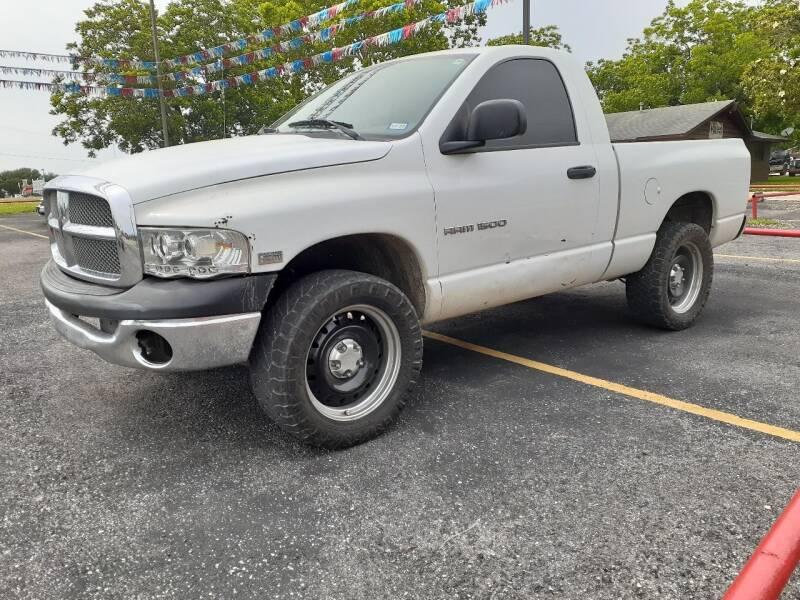 2004 Dodge Ram Pickup 1500 for sale at John 3:16 Motors in San Antonio TX