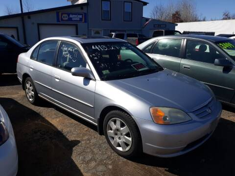 2002 Honda Civic for sale at Classic Heaven Used Cars & Service in Brimfield MA