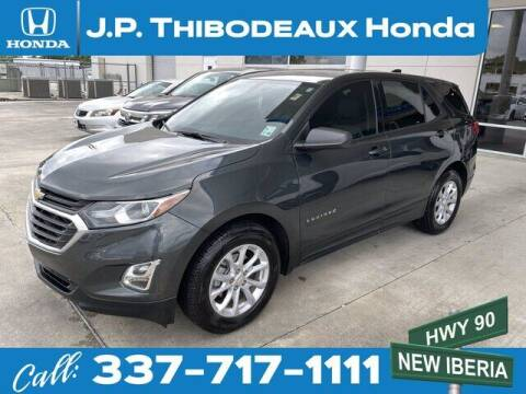 2019 Chevrolet Equinox for sale at J P Thibodeaux Used Cars in New Iberia LA