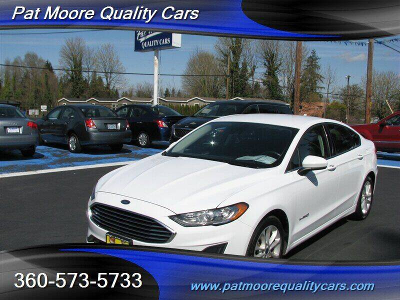 2019 Ford Fusion Hybrid for sale in Vancouver, WA