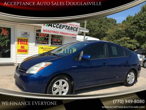 2008 Toyota Prius for sale at Acceptance Auto Sales Douglasville in Douglasville GA