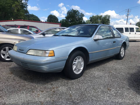 1992 Ford Thunderbird for sale at JMD Auto LLC in Taylorsville NC