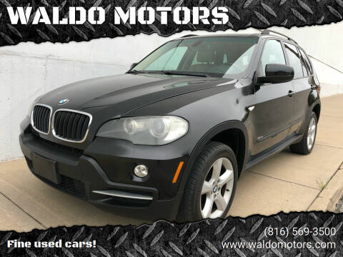 2007 BMW X5 for sale at WALDO MOTORS in Kansas City MO