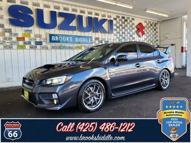 2017 Subaru WRX for sale at BROOKS BIDDLE AUTOMOTIVE in Bothell WA