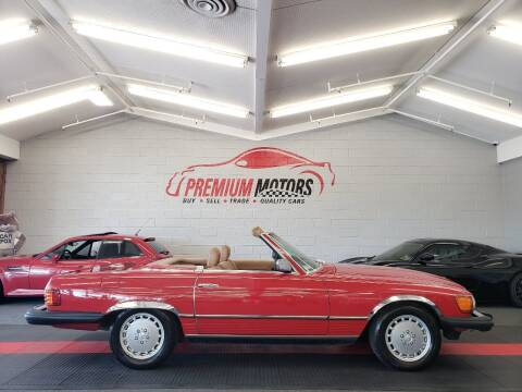 1984 Mercedes-Benz 380-Class for sale at Premium Motors in Villa Park IL