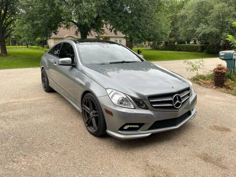 2010 Mercedes-Benz E-Class for sale at CARWIN MOTORS in Katy TX