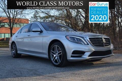 2016 Mercedes-Benz S-Class for sale at World Class Motors LLC in Noblesville IN