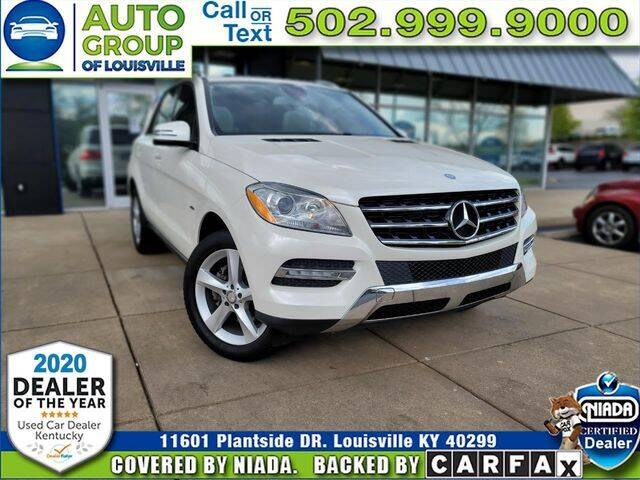 2012 Mercedes-Benz M-Class for sale in Louisville, KY