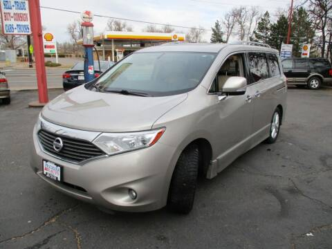 2012 Nissan Quest for sale at Premier Auto in Wheat Ridge CO