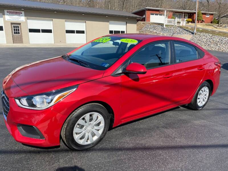 2020 Hyundai Accent for sale at Route 28 Auto Sales in Ridgeley WV