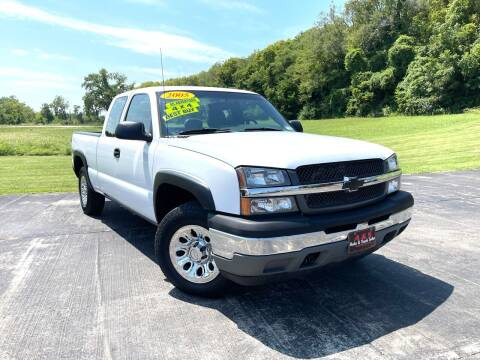 2005 Chevrolet Silverado 1500 for sale at A & S Auto and Truck Sales in Platte City MO