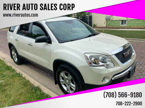 2011 GMC Acadia for sale at RIVER AUTO SALES CORP in Maywood IL