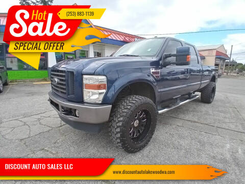 2009 Ford F-350 Super Duty for sale at DISCOUNT AUTO SALES LLC in Lakewood WA