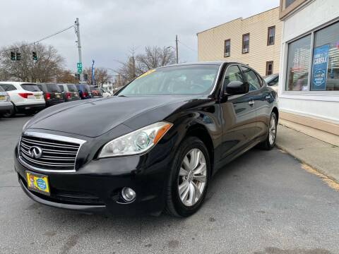 2011 Infiniti M37 for sale at ADAM AUTO AGENCY in Rensselaer NY