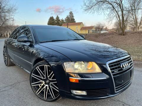 2009 Audi A8 for sale at Trocci's Auto Sales in West Pittsburg PA