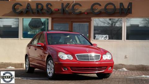 2005 Mercedes-Benz C-Class for sale at Cars-KC LLC in Overland Park KS