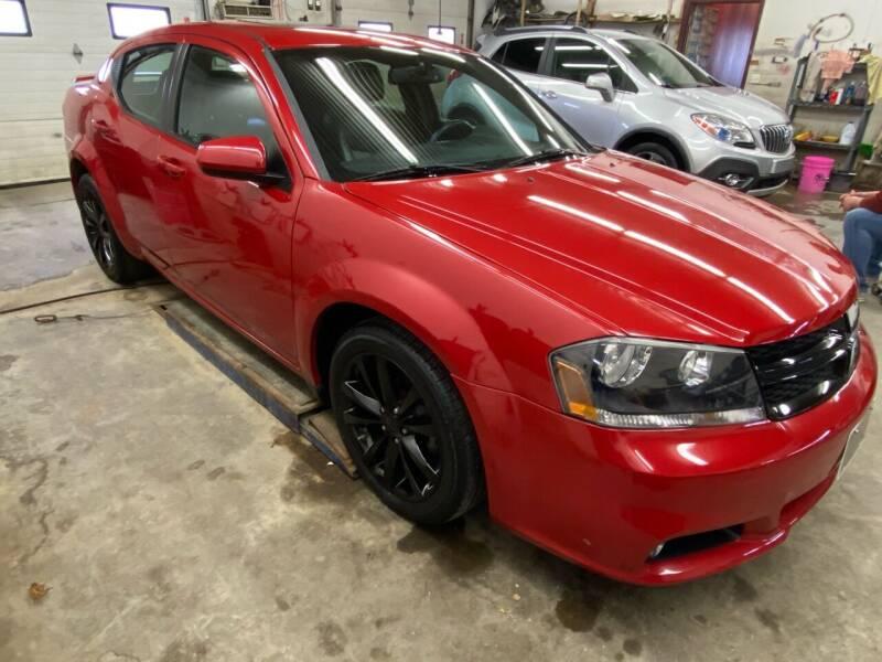 2014 Dodge Avenger for sale at Hill Motors in Ortonville MN