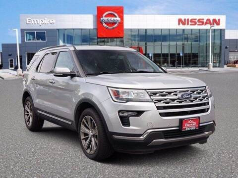 2018 Ford Explorer for sale at EMPIRE LAKEWOOD NISSAN in Lakewood CO