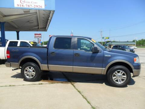 2006 Ford F-150 for sale at C MOORE CARS in Grove OK