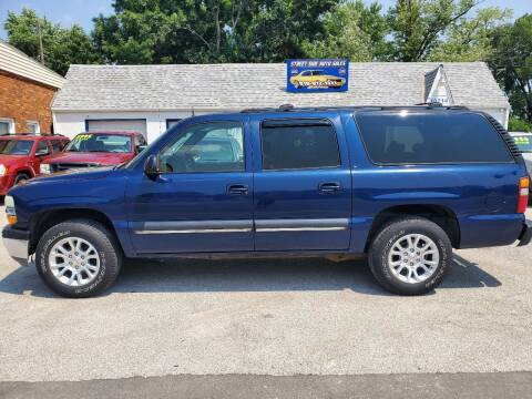 2002 Chevrolet Suburban for sale at Street Side Auto Sales in Independence MO