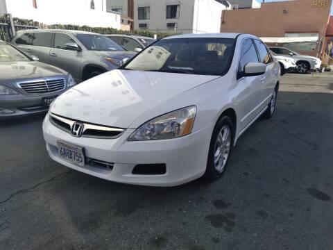 2007 Honda Accord for sale at Western Motors Inc in Los Angeles CA