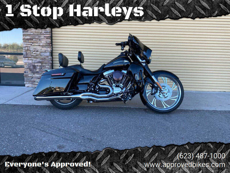 2015 Harley Davidson Street Glide CVO for sale at 1 Stop Harleys in Peoria AZ
