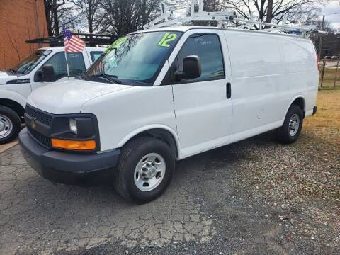 2012 Chevrolet Express Cargo for sale at H & H Enterprise Auto Sales Inc in Charlotte NC