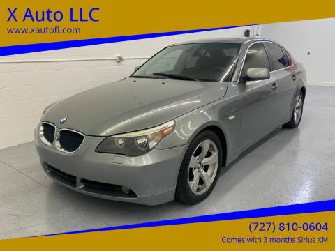 2006 BMW 5 Series for sale at X Auto LLC in Pinellas Park FL
