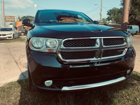2011 Dodge Durango for sale at 3 Brothers Auto Sales Inc in Detroit MI