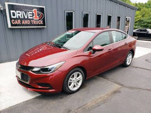 2016 Chevrolet Cruze for sale at Drive 1 Car & Truck in Springfield OH