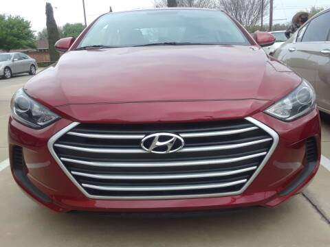 2017 Hyundai Elantra for sale at Auto Haus Imports in Grand Prairie TX