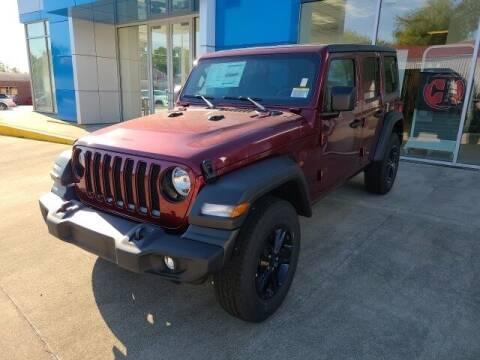 2021 Jeep Wrangler Unlimited for sale at LeMond's Chevrolet Chrysler in Fairfield IL