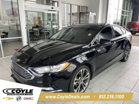 2017 Ford Fusion for sale at COYLE GM - COYLE NISSAN in Clarksville IN