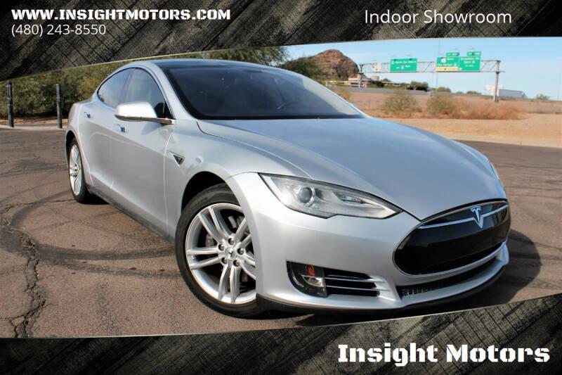 2013 Tesla Model S for sale at Insight Motors in Tempe AZ