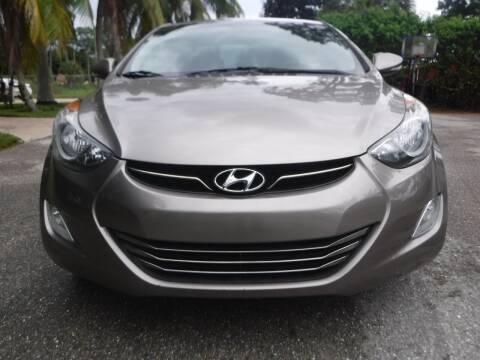 2011 Hyundai Elantra for sale at Seven Mile Motors, Inc. in Naples FL