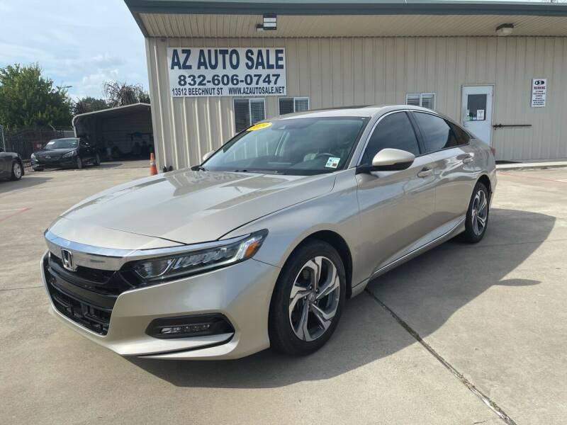 2019 Honda Accord for sale at AZ Auto Sale in Houston TX