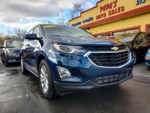 2020 Chevrolet Equinox for sale at Popas Auto Sales in Detroit MI