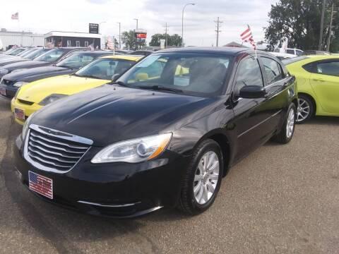 2013 Chrysler 200 for sale at L & J Motors in Mandan ND