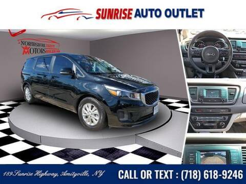 2017 Kia Sedona for sale at Sunrise Auto Outlet in Amityville NY