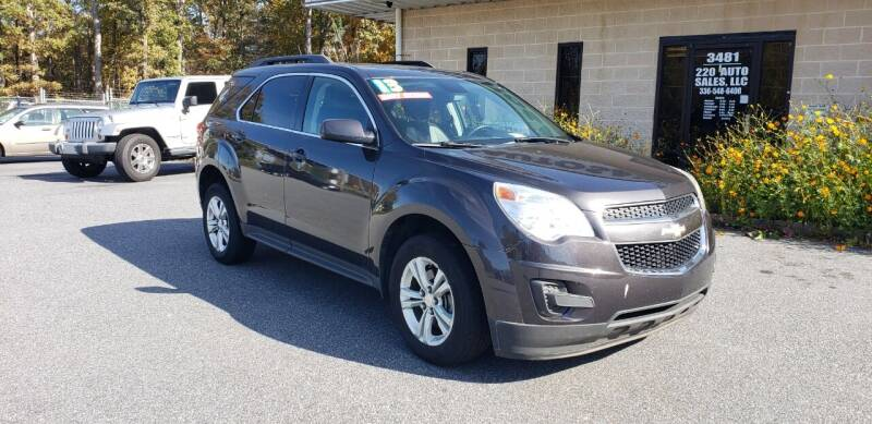 2014 Chevrolet Equinox for sale at 220 Auto Sales LLC in Madison NC