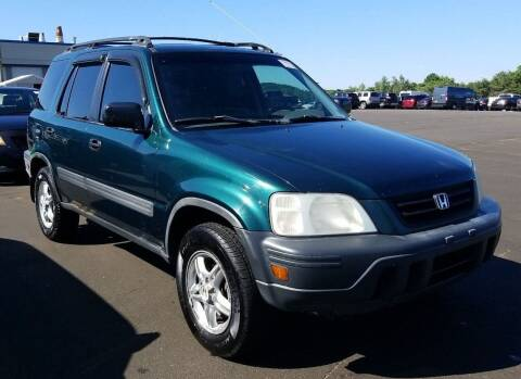 2001 Honda CR-V for sale at Angelo's Auto Sales in Lowellville OH
