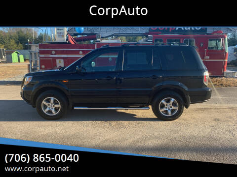 2008 Honda Pilot for sale at CorpAuto in Cleveland GA