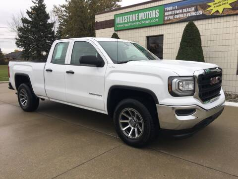 2016 GMC Sierra 1500 for sale at MILESTONE MOTORS in Chesterfield MI