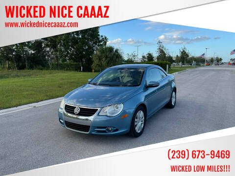 2010 Volkswagen Eos for sale at WICKED NICE CAAAZ in Cape Coral FL