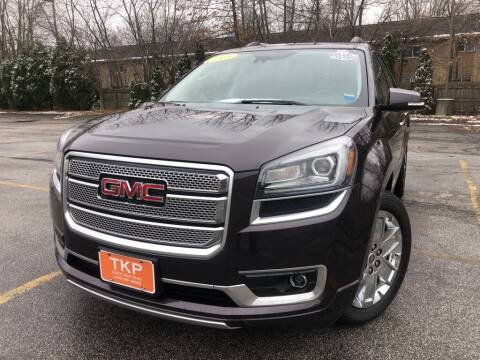 2015 GMC Acadia for sale at TKP Auto Sales in Eastlake OH
